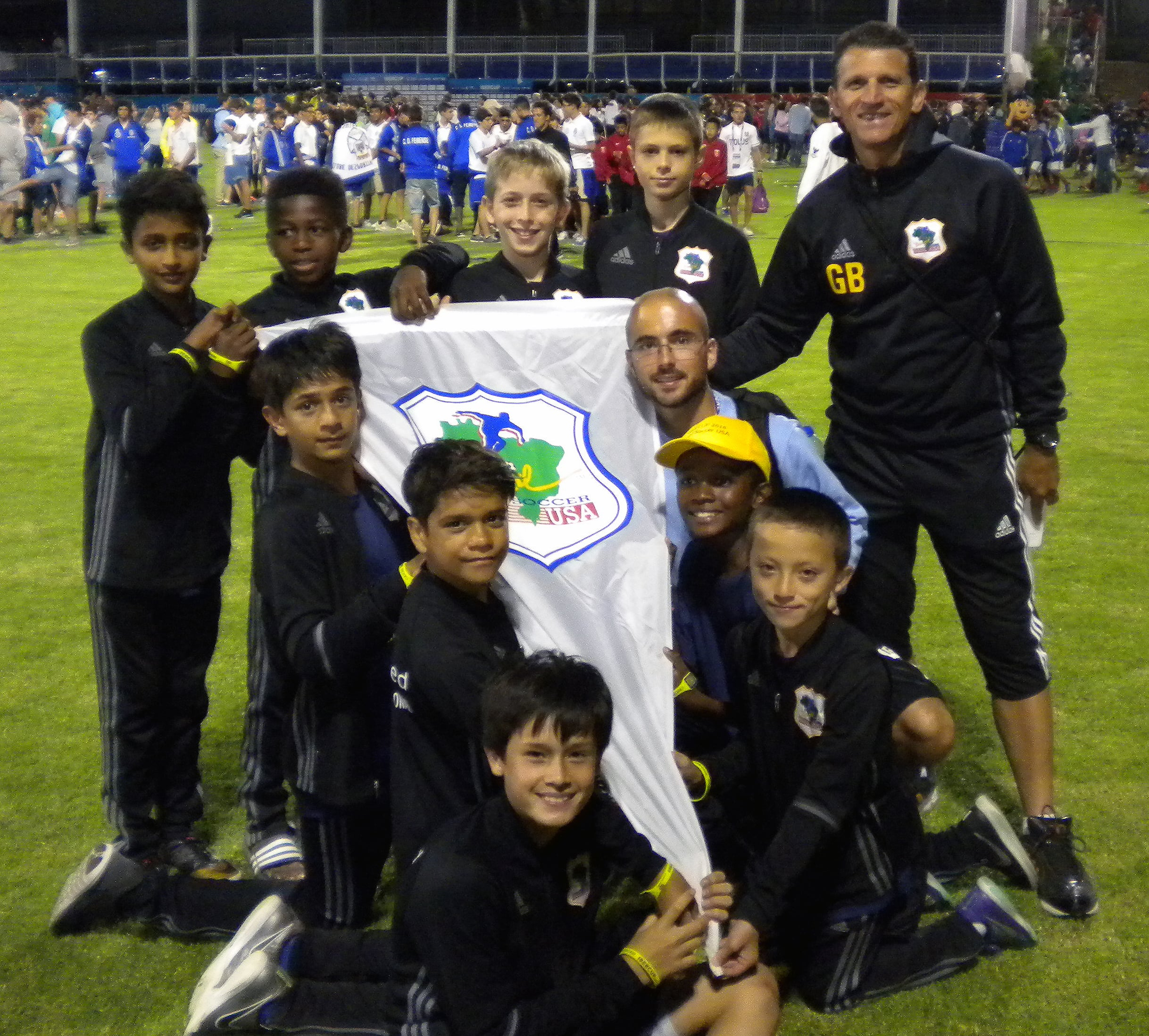 Brazil Soccer USA IBER CUP PICTURE