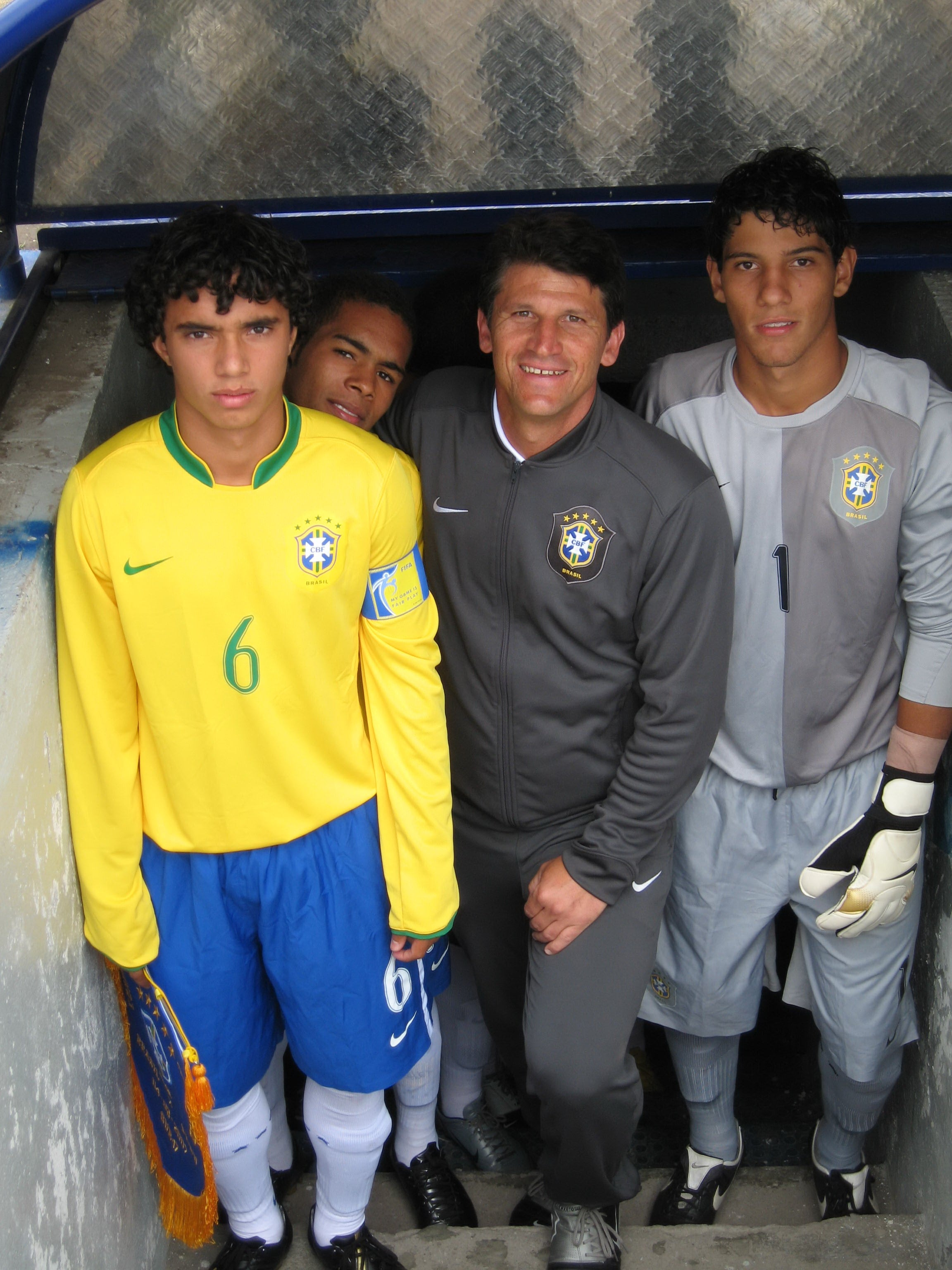 image of Brasil U 17 international youth tournament in Ecuador