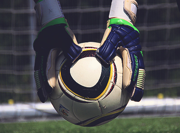 image of hands via goalkeeper training